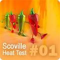 Hot Pepper HPLC Test Results #01 HPLC-1