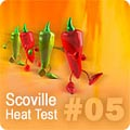 Hot Pepper HPLC Test Results #05 HPLC-5