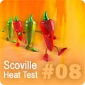 Hot Pepper HPLC Test Results #08 HPLC-8
