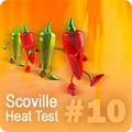 Hot Pepper HPLC Test Results #10 HPLC-10