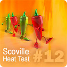 Hot Pepper HPLC Test Results #12 HPLC-12