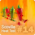 Hot Pepper HPLC Test Results #14 HPLC-14