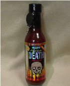 Blair's Mega Death Hot Sauce with Skull Key Ring HS24-5