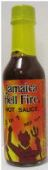 Jamaica Hell Fire 2 in 1 Red Hot Sauce HS97-5