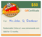 Convenient $50 Gift Certificate