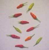Aji Piquante Hot Peppers (Strain 1) HP663-10